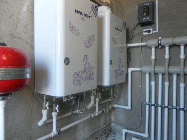 Ремонт и обслуживание газовых отопительных котлов и колонок