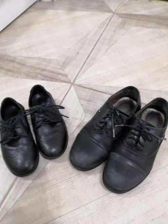 Детские кожанные туфли