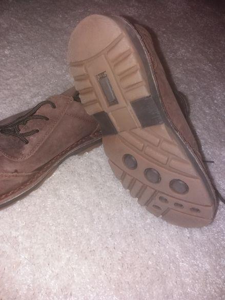 Оригинални обувки от естествена кожа-37номер