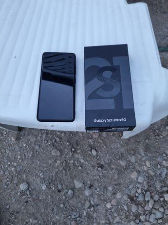 Vând tel Samsung s 21 ultra 5 g