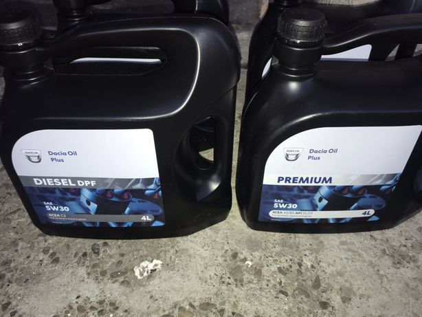 Ulei Motor Dacia Oil Plus Premium și Dacia Plus DPF 5W 30 4L