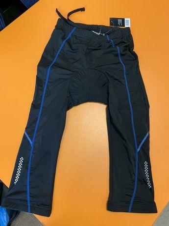 Pantaloni ciclism Crivit cu bazon , trei sferturi
