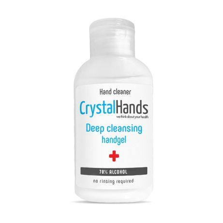 Gel dezinfectant Crystal Hands pentru maini pret / 60 bucati