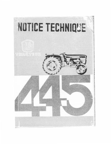 carte tractor U445