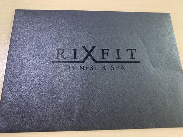 Абонемент в фитнес клуб Rixfit