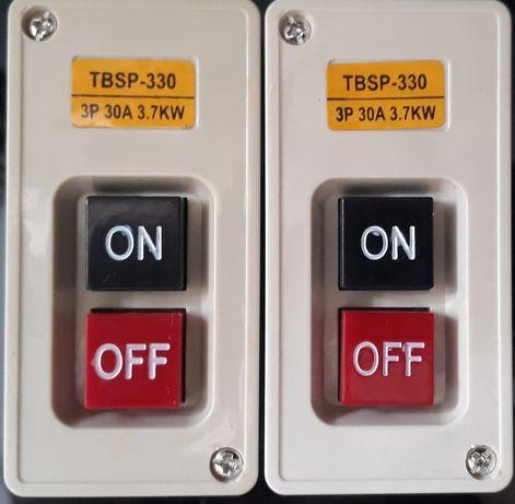 60 lei Cutie Electrica Intrerupator Buton Contactor motor 30 A