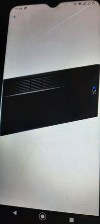 Convector de perete sau pardoseala iVigo EPK 2500 W Black Glass, contr
