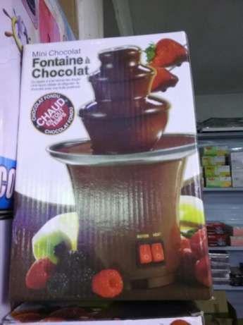 Фонтан за Шоколад Мини чисто нов!