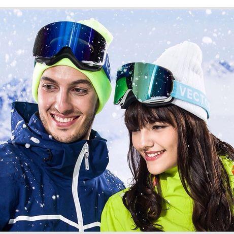 Горнолыжная маска, горнолыжные очки Vector для лыж и сноуборда