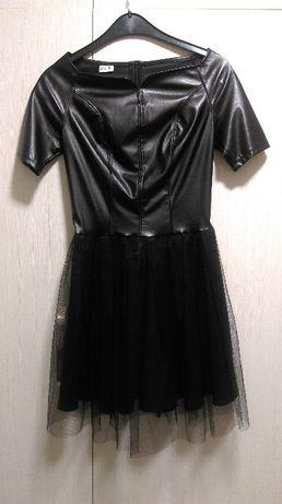 Официална рокля с тюл