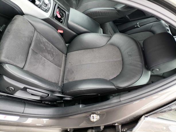 Interior S-line cu Alcantara Audi A6 4G 2012 berlina ca nou,impecabil
