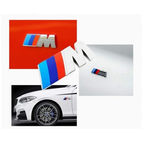 BMW М Емблема Стикер За Калник,Врата,Интериор