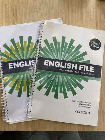 English fila Intermediate books