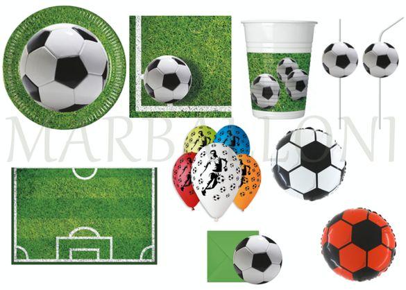 Парти Артикули за Рожден Ден Футбол, Украса за Парти Футбол Парти Сет