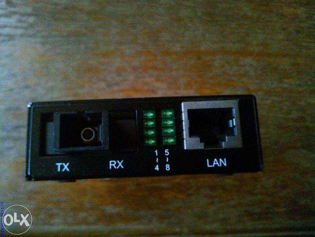 Fast Fiber Converter fibra optica 10/100Base TX to100Base FX