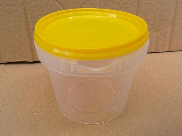 Пластмасови кутии/опаковки/за пчелен мед- пчеларски инвентар