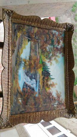 Toblou pictat panza