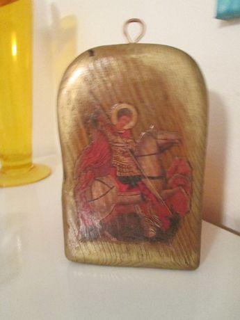 икона св.Георги-миниатюра