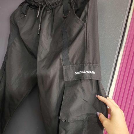 Черни Карго панталони XL мъжки