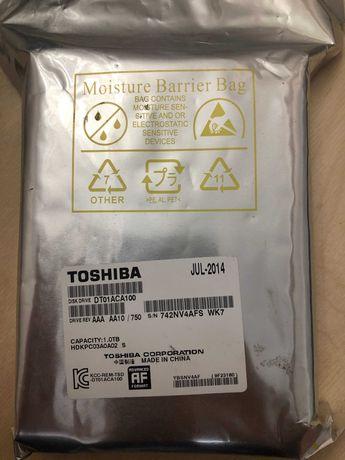 Жесткий диск HDD 1000 Gb Toshiba, новый, запечатанный