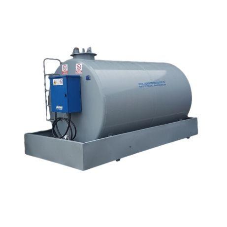 Bazin depozitare motorina 3000 litri cu pompa Piusi