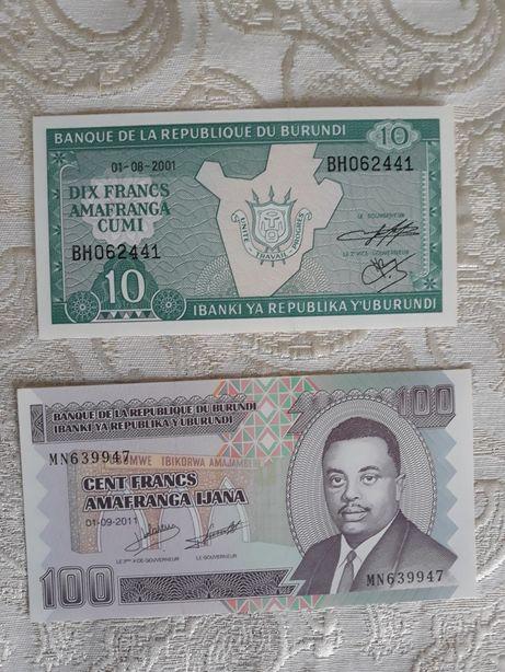 Bancnote Burundi