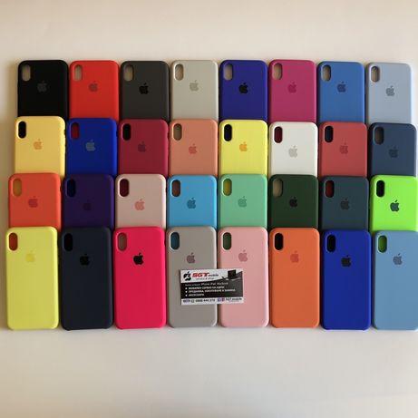 Силиконов кейс Apple iPhone X Xs Xr Xs Max 11 11 Pro SE 2020 7/8 Plus