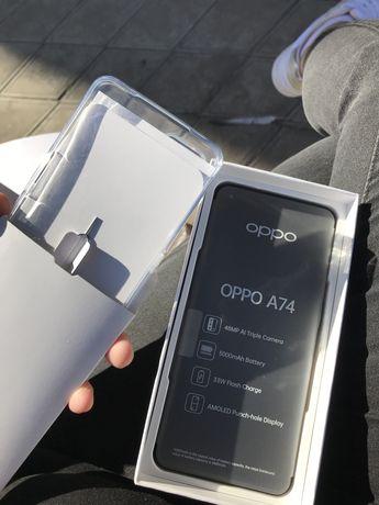 Oppo A74 на 128 г. Новый СРОЧНО