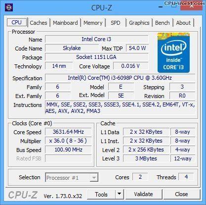 Kit i3 6098p plus placa de baza ddr4