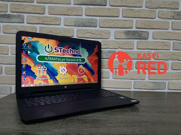 Ноутбук HP 15 Celeron N3050 ОЗУ 4 Рассрочка KASPI RED!Гарантия год!