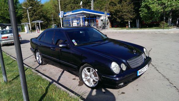 Mercedes W210 E320 CDI седан фейслифт НА ЧАСТИ / Мерцедес В210