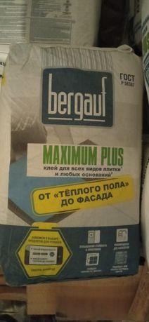 Клей для всех видов плитки BERGAUF