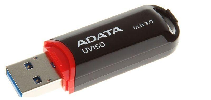 USB Fash Memory 128GB USB3.0 A-DATA UV150 черна преносима Флаш Памет гр. София - image 1