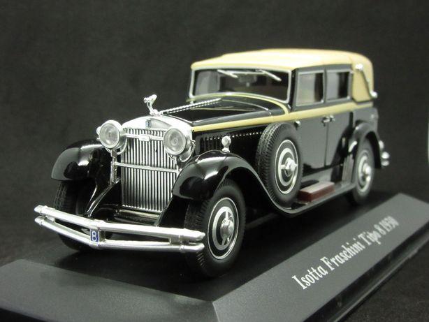 Macheta Isotta Fraschini Tipo 8 1930 Altaya 1:43