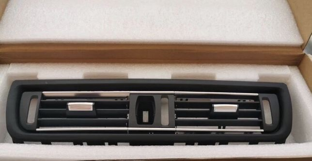 Grila Clima Aer centrala spate ventilatie crom BMW F10 F11 F18 seria 5