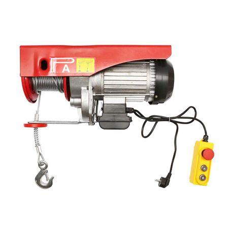 Palan electric/macara 220V/50Hz 1600W, sarcina maxima 500/1000Kg