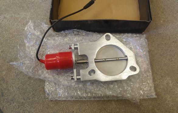 """76мм 3"""" Cutout cut off valve Cut out клапа генерация кът оф"""