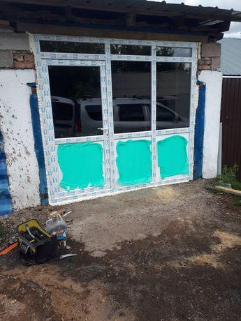 Пластиковые окна,двери,балконый. Пластикалық терезе!!!