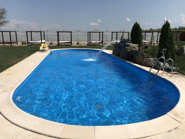 PROMOȚIE - piscina prefabricata 8 x 4.16 x 1,5h