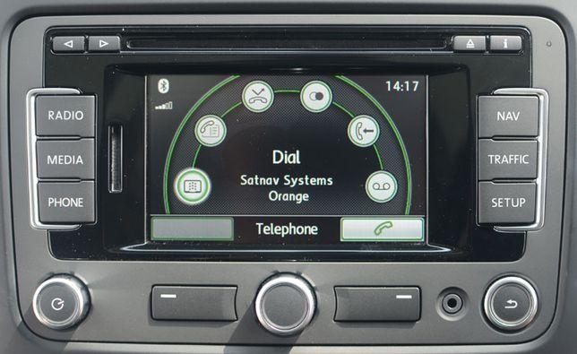 Card SD actualizare harti navigatie VW RNS 310 315 NOU V12 2020 EU EST