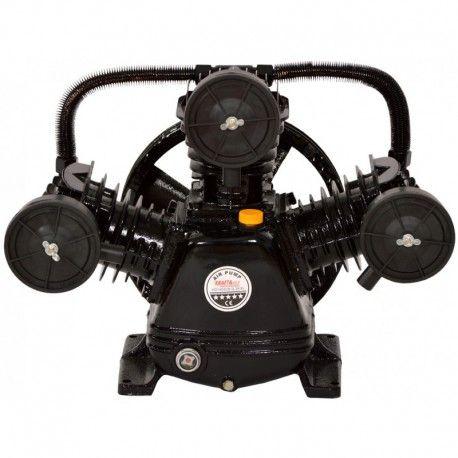 Cap compresor de aer cu 3 pistoane 3kW, 2CP KraftProfesional KD1405
