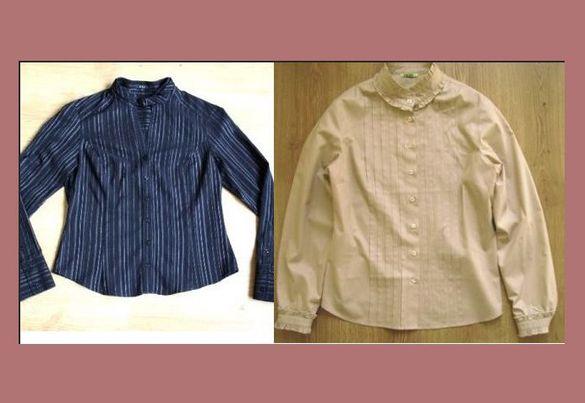 Елегантна дамска риза с дълъг ръкав- 2 бр. по 12 лв.