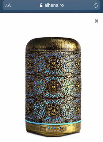 Difuzor aromaterapie,capacitate 250 ml,Bronz ,umidificator