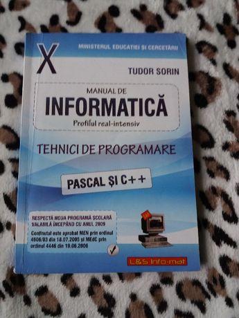 Manual informatica clasa a X-a