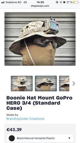 Prindere go pro 3 si 4 pentru bonnie hat