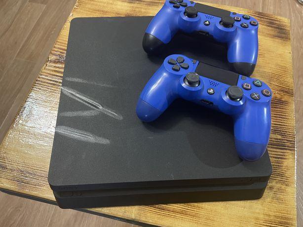 Sony PlayStation 4 Slim 2 джойстика
