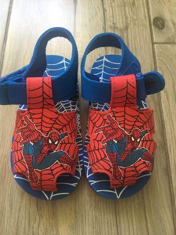 Sandale plaja Spiderman