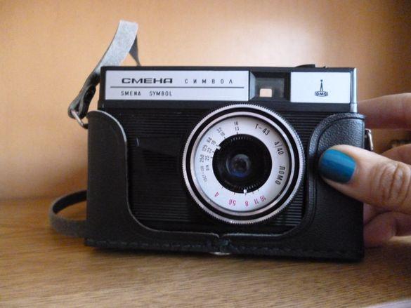 руски фотоапарат лентов Smena Symbol