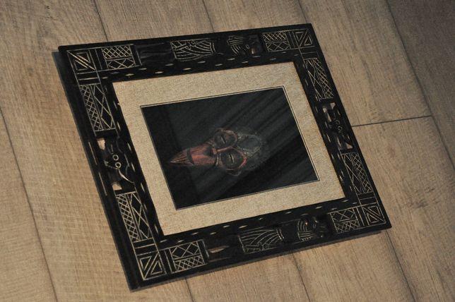 Tablou 3D modern - rama de lemn - sticla - model egypt