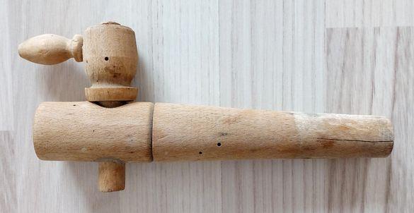 Дървена канелка